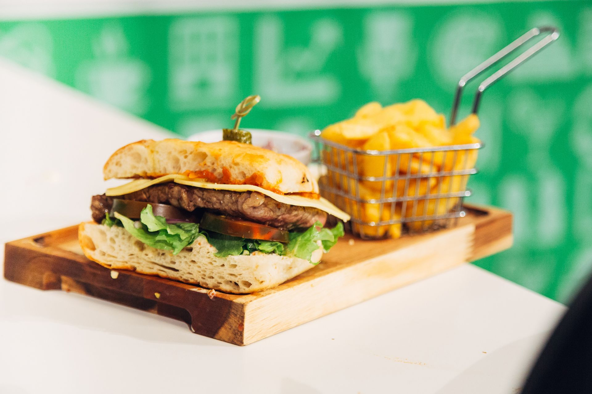 Harbour Master Steak Sandwich